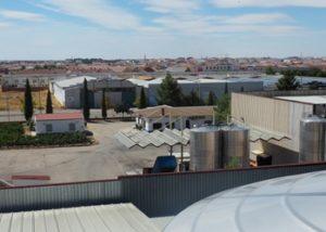 the estate of Vinicola de Tomelloso winery located in Spain