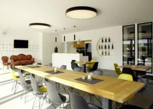 Tasting Area at Weingut Kirchner Gdbr