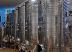Tanks At Zorzon Winery