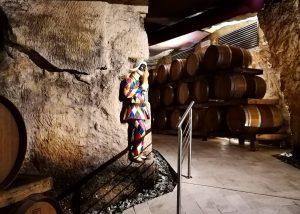Cellar Of Zýmē Di Celestino Gaspari Winery