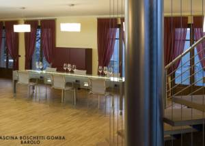 Tasting Room Of Cascina Boschetti Gomba Winery