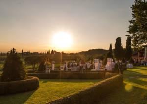 Lanscape Around Castello Di Spessa Winery