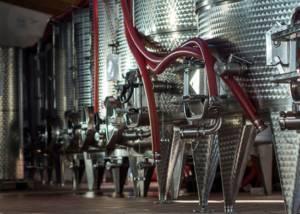 Tanks At Ettore Germano Winery
