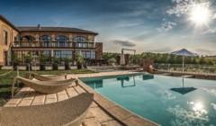 Pool At Cascina Faletta Winery