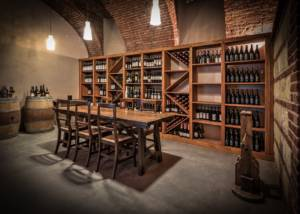 Cellar Of Cascina Faletta Winery