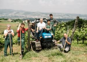 Team Of Monte Delle Vigne Winery