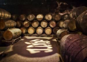Barrels of José Maria Da Fonseca Manor House