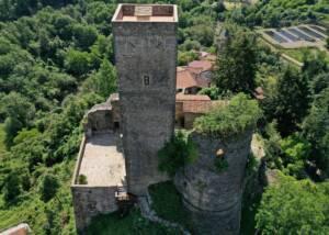 main building of agriturismo castello della mugazzena