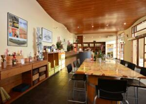 Tasting room of the Azienda Agricola Aldo Adami winery