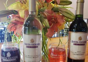 Wine Bottles Of The Baroda Founders Wine Cellar Winery