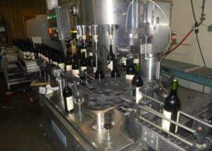 Bottling Of The Wine Bottles At Baroda Founders Wine Cellar-Winery