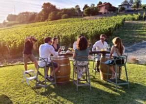 WIne Tasting at Bine Winery