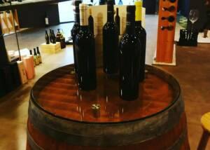 Wine Bottles of Bodega Sers Winery