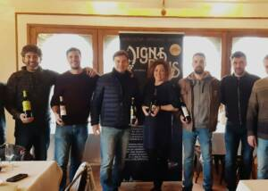 Winemakers at Bodega Sers Winery