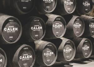 Wine Barrels Of Cálem Wine Cellar Winery