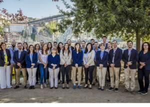 The Team Of The Cálem Wine Cellar Winery