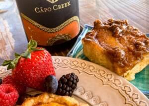 Food and Tasting at Capo Creek Winery