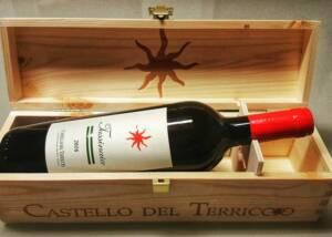 Castello del Terricio Wine Bottle Display