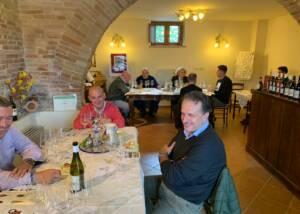 People Tasting Wine Of The Chiorri Winery