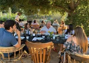 Wine Tasting At Clos De Tres Cantos Winery