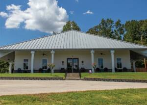 main building of delta blues winery