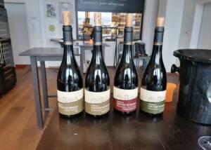 Wine Bottles Of The Domaine Du Château De Messey Winery