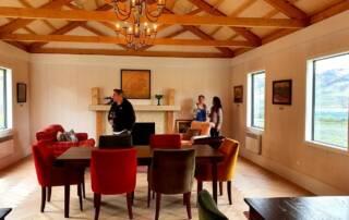 tasting room of domaine thomson wines