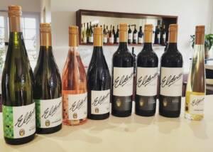 Wine Bottles Of The Elderton Wines Winery