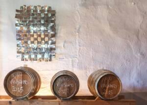 Barrels of Fattoria di Bacchereto