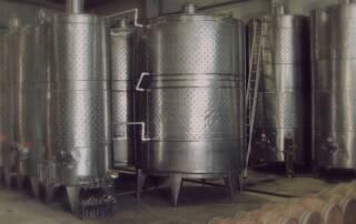 Fermentation Tanks Of The Good Drop Wine Cellars Winery