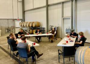 Wine Tasting Event At The Holloran Vineyard Wines