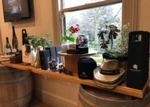 Wine Display At Josef Chromy Wines-Winery