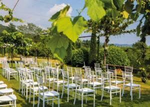 Tasting Area of La Montina Winery