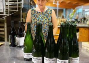 Wine bottles by Lavinyeta WInery