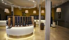 Beautiful Tasting Area Of The Maison Bouchard Père & Fils Winery