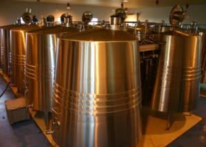 Wine Tanks of Mont Reaga Winery
