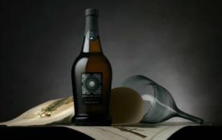 Wine Bottle Of The Perla Del Garda Winery