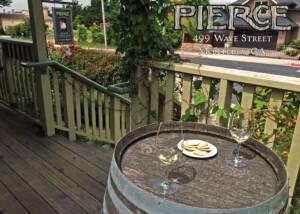Tasting Area At Pierce Ranch Vineyards Winery