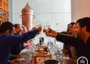 Wine Tasting Happening At Quinta De Santa Cristina Winery