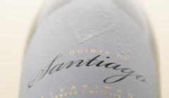Label on Wine Bottle of Quinta De Santiago