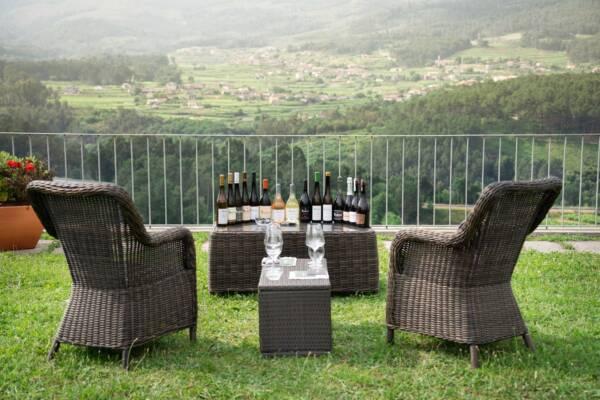 Tasting Area Of The Quinta De Soalheiro Winery