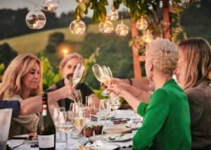People Tasting Wine At Rezabal Winery