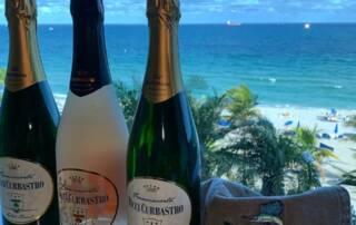 Wines Bottles of Ricci Curbastro Winery
