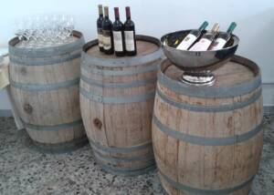 wines by san martino coluccivini on barrels