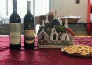 wine and food at san martino coluccivini