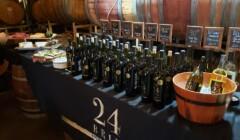 Cellar room of the Schmitz 24 Brix Wines winery