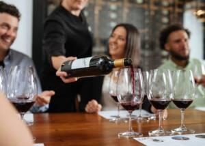 Wine Tasting at Elderton Wines