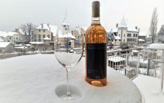 Wine Bottle of Terre De Lavaux Winery