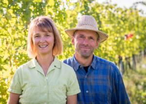 Owners of Wassmann Biodynamic Wines Villany