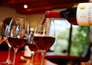 Tasting Webersburg Wine